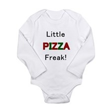 Unique I love pizza Long Sleeve Infant Bodysuit