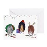 Aussie Christmas Greeting Cards (Pk of 10)