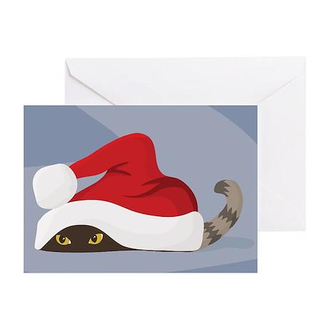 Waiting for Santa Greeting Cards
