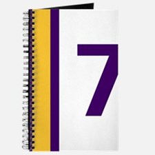 Purple and Gold Seven Journal