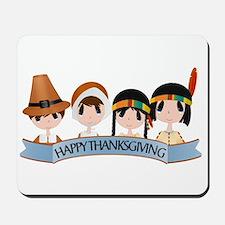 Happy Thanksgivng Mousepad
