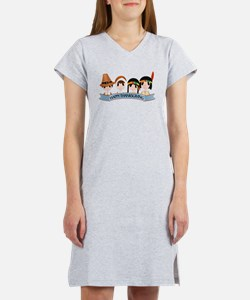 Happy Thanksgivng Women's Nightshirt