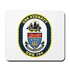 USS Sterett Mousepad