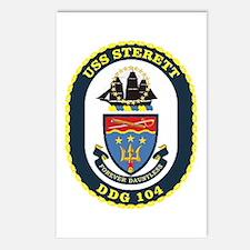 USS Sterett Postcards (Package of 8)