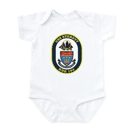 DDG 104 USS Sterett Infant Bodysuit