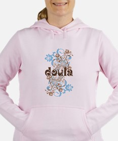 Cute Home birth Women's Hooded Sweatshirt