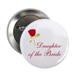 Red Bride's Daughter Button