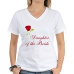 Red Bride's Daughter Women's V-Neck T-Shirt