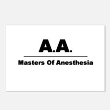 Cute Anesthesiologist Postcards (Package of 8)