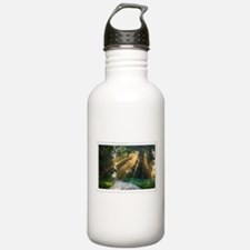 Country Road Sunlight Sports Water Bottle