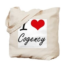 I love Cogency Artistic Design Tote Bag