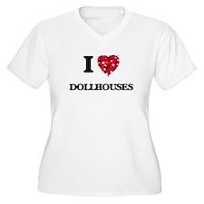 I Love Dollhouses Plus Size T-Shirt