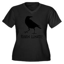 Edgar allen poe Women's Plus Size V-Neck Dark T-Shirt