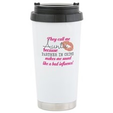 They Call Me Auntie Travel Mug