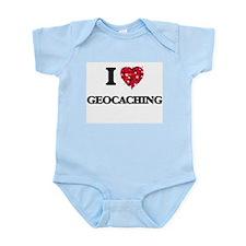 I Love Geocaching Body Suit