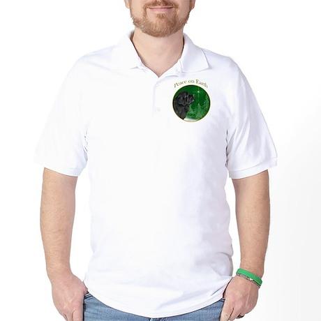 Newfie Peace Golf Shirt