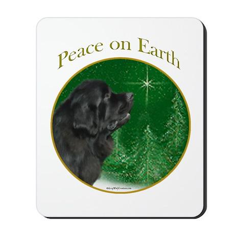 Newfie Peace Mousepad