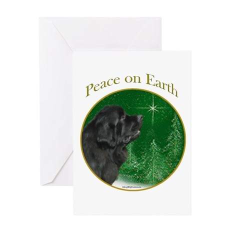 Newfie Peace Greeting Card
