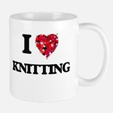 I Love Knitting Mugs