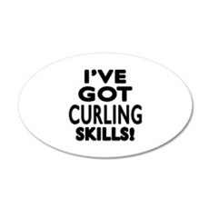 Curling Skills Designs Wall Decal