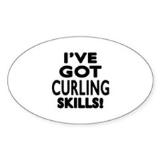 Curling Skills Designs Decal