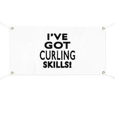 Curling Skills Designs Banner