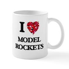 I Love Model Rockets Mugs