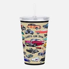 Car Show Acrylic Double-Wall Tumbler