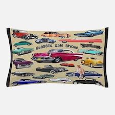 Car Show Pillow Case