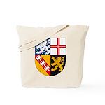 Saarland Coat of Arms Tote Bag