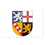 Saarland Coat of Arms Postcards (Package of 8)