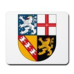 Saarland Coat of Arms Mousepad