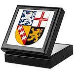 Saarland Coat of Arms Keepsake Box