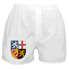 Saarland Coat of Arms Boxer Shorts