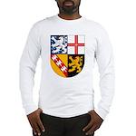 Saarland Coat of Arms Long Sleeve T-Shirt
