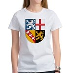 Saarland Coat of Arms Women's T-Shirt