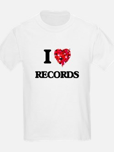 I Love Records T-Shirt