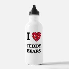I Love Teddy Bears Water Bottle