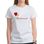 Red Bridesmaid Women's T-Shirt