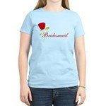 Red Bridesmaid Women's Light T-Shirt