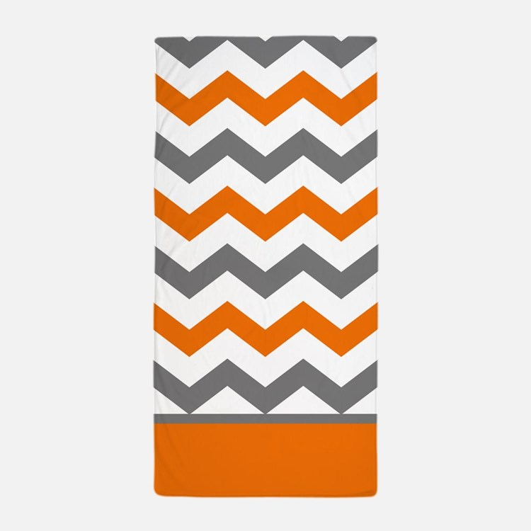 Orange and grey bathroom accessories decor cafepress for Orange and grey bathroom accessories