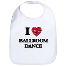 I Love Ballroom Dance Bib