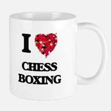 I Love Chess Boxing Mugs