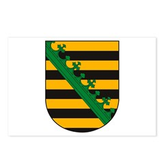 Sachsen Coat of Arms Postcards (Package of 8)
