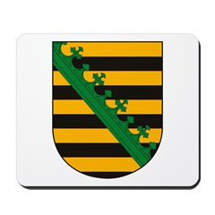 Sachsen Coat of Arms Mousepad