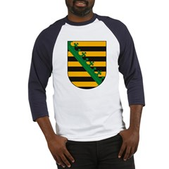 Sachsen Coat of Arms Baseball Jersey