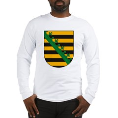 Sachsen Coat of Arms Long Sleeve T-Shirt