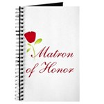 Red Matron of Honor Journal