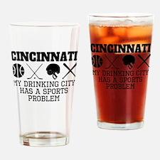 Cincinnati Drinking City Sports Problem Drinking G