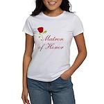 Red Matron of Honor Women's T-Shirt